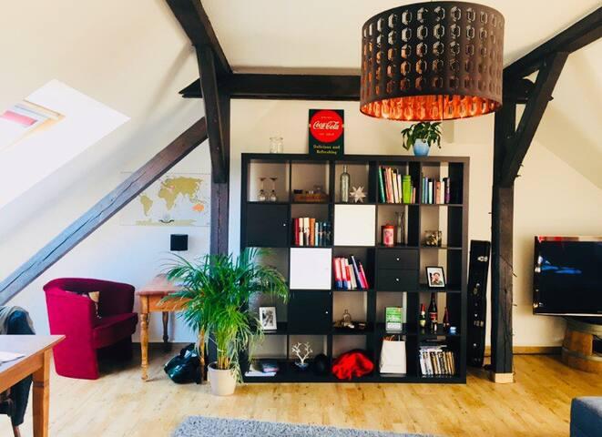 Gemütliche DG-Wohnung in Erfurt Nord
