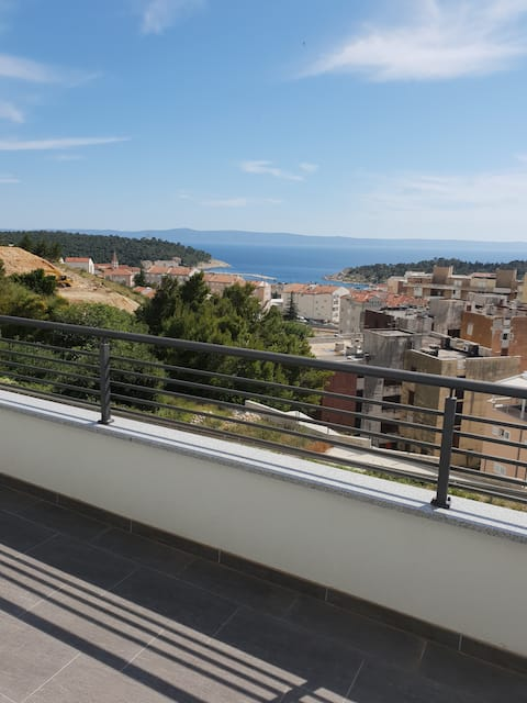 The best view for the best vacation.  Apartman 2+1