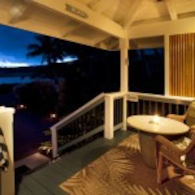 Peaceful evenings on your private lanai