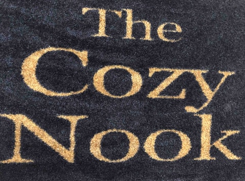 The Cozy Nook is a private three room suite!