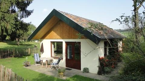 Uniek gelegen bungalow in Zuid Limburg/Beutenaken