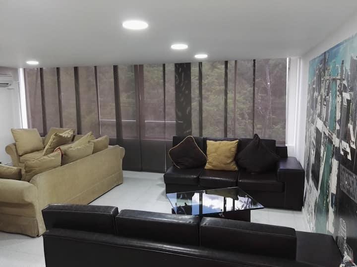 Apt Duplex loft Nueva Villa de Aburra with AirA