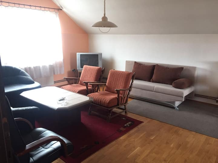 Big flat with 5 beds and 20min to Zagreb centre