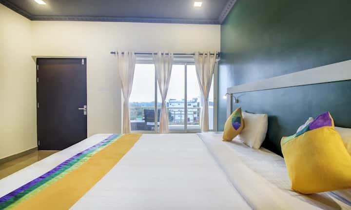 Morjim Sea View Resort  Sea Facing Room