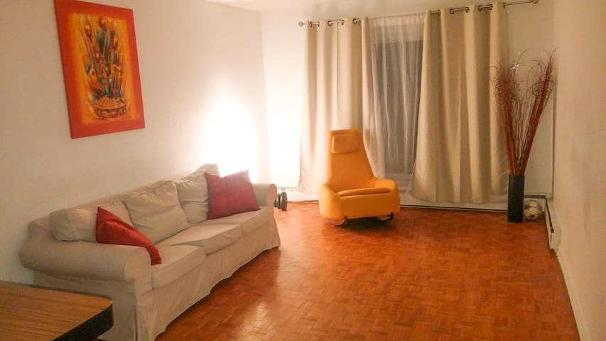 Nice, Large & cozy one bedroom appartment - Montreal