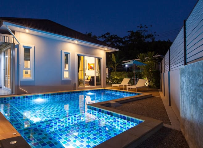 Breath-taking 5 Star Pool Villa AoNang Krabi.