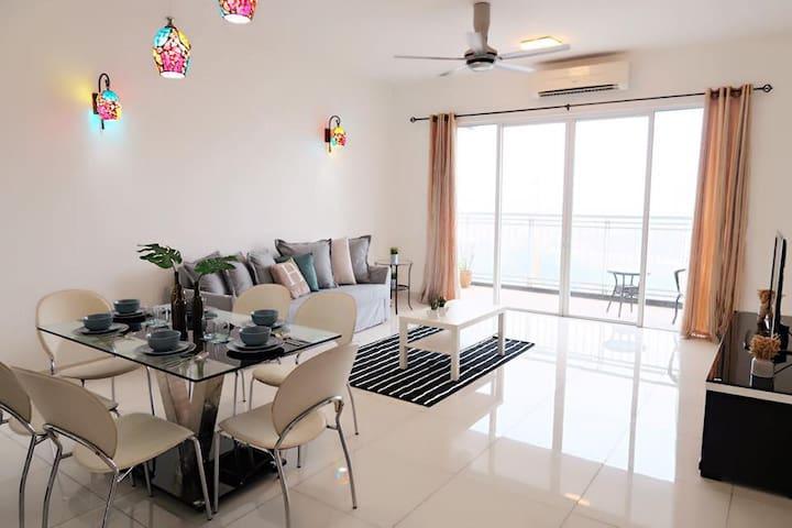 Homely & Spacious condo @Mont Kiara - Kuala Lumpur - Wohnung