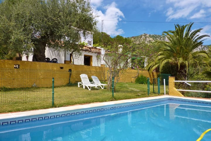Traditional detached, country house with private swimming pool