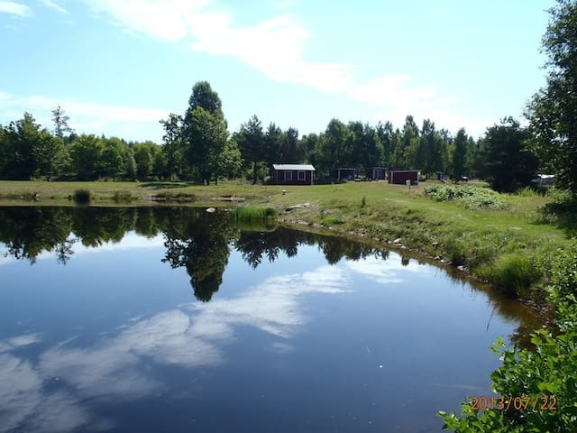Vigenstorp Natur fishing camp