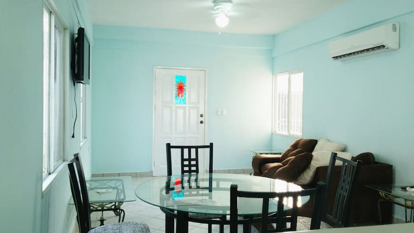 Nice, private and couzy... Perfect for a couple! - San Miguel de Cozumel - บ้าน