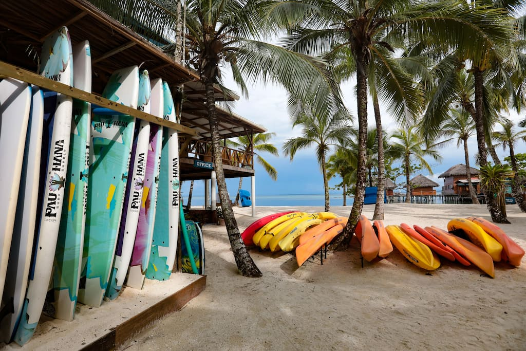 Free of Charge - Paddle Boards, Kayaks, Snorkeling and Paddle Boats
