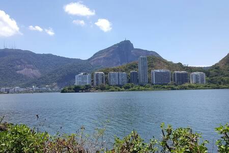 Vista Espetacular Lagoa com Garagem - Río de Janeiro
