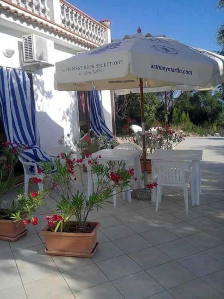 Bilocale 2/3 posti in villa panoram