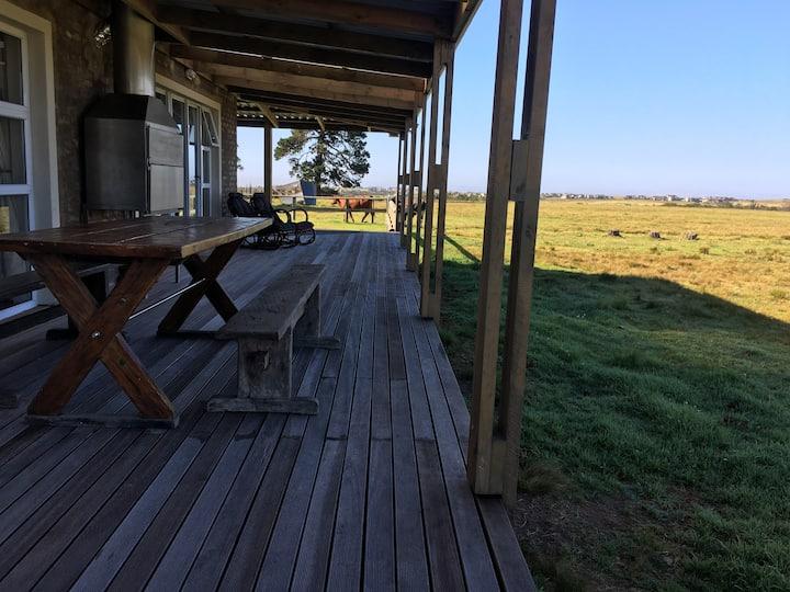 Unwind true farm-style on Gwaiing River, George