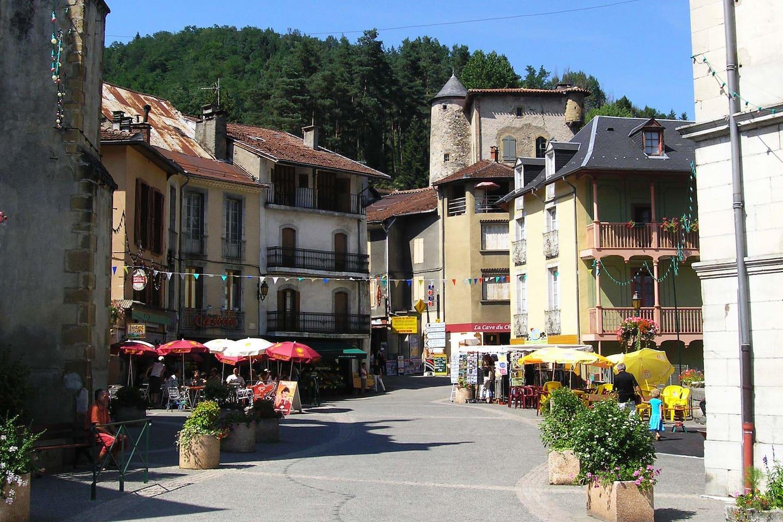 Centre du village de Seix