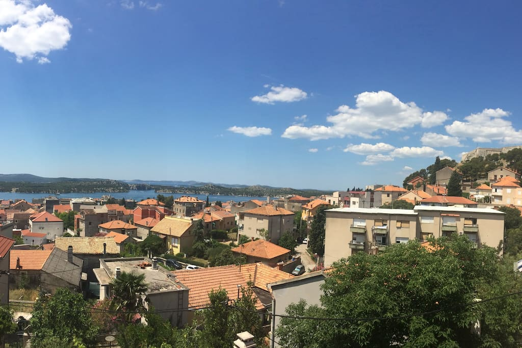 Panorama from the balcony