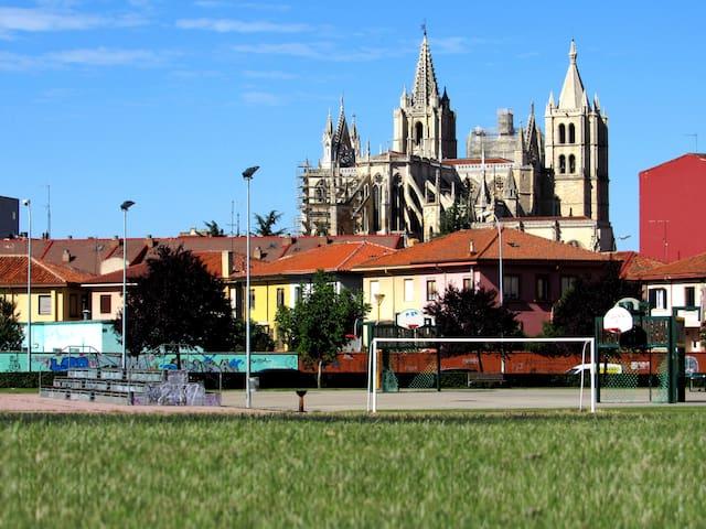 Parques de la Catedral de León
