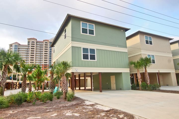 Nautical Breeze at Romeo Beach - Brand New 3BR/4BA Steps from the Beach!