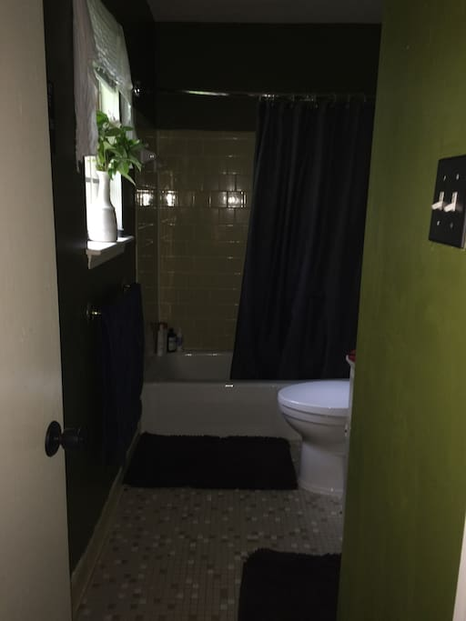 Private bathroom adjoining master bedroom