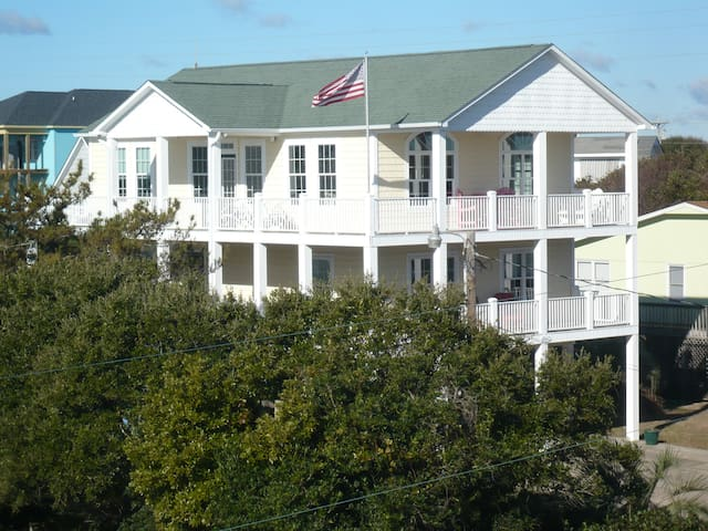 We invite you to Sea View Cottage - Emerald Isle - Haus