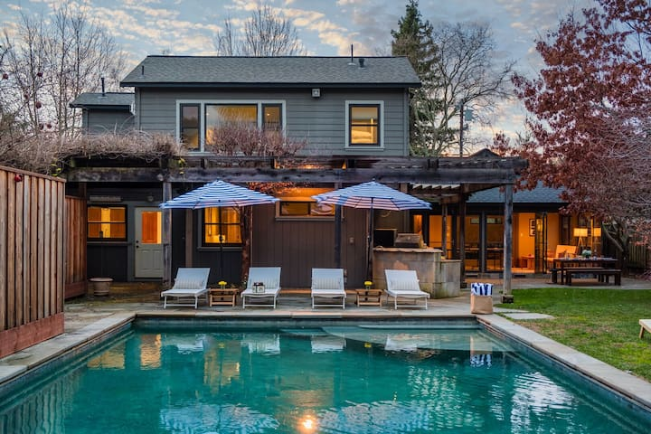 Warm & Modern Home in Santa Rosa w/ Pool ❤ Cypress by AvantStay