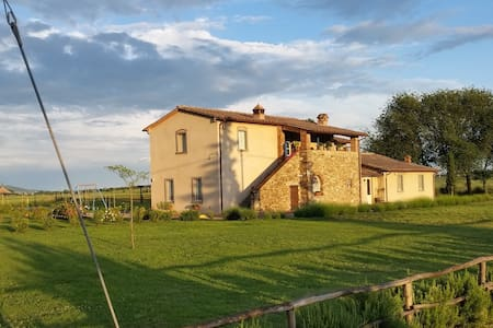 b&b La Rugantina - Camera Lavanda - Family Room - Cortona
