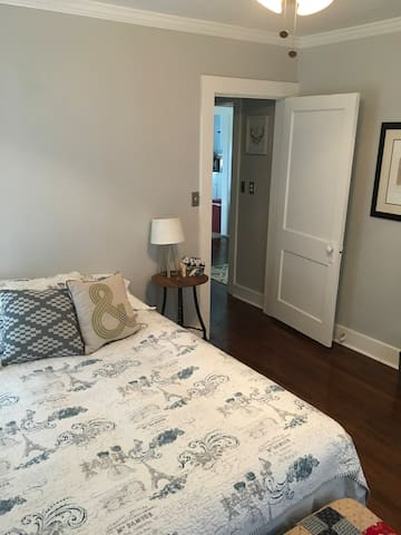 Trendy, remodeled, downtown room.