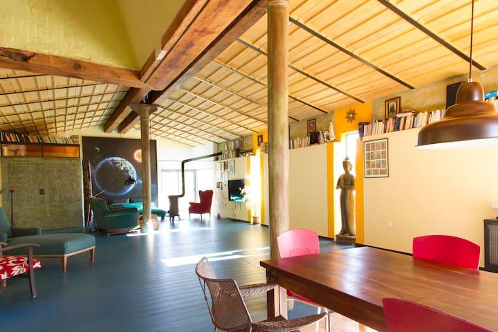 Casa rural tipo loft