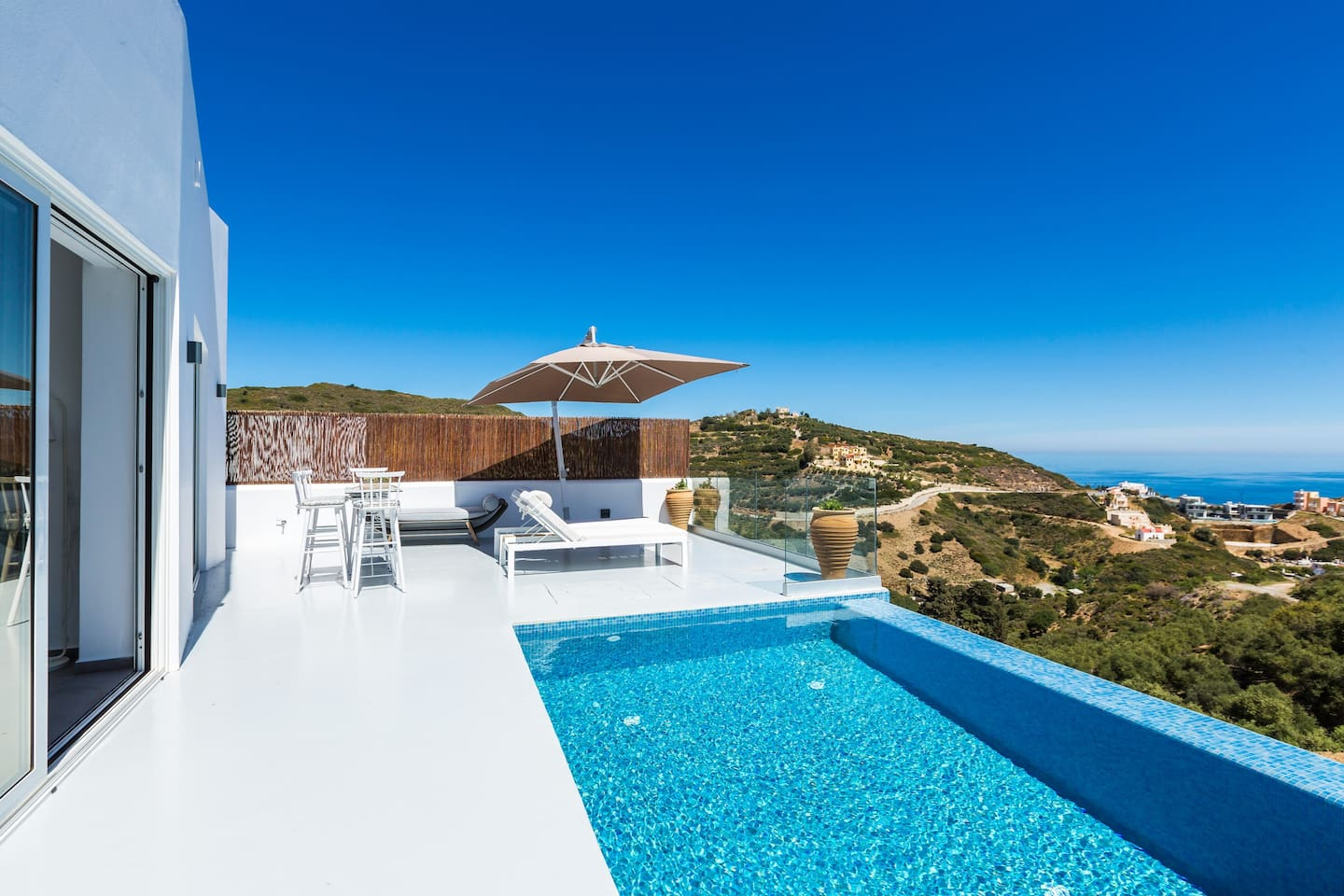 Yasmin Villa, offers magnificent sea views thanks to its elevated position!