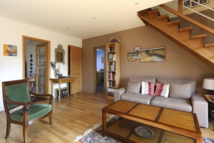 Duplex terrasse à 15 mins de Paris - Chatou - Apartmen