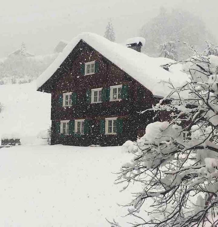 Hüttenzauber in Vorarlberg