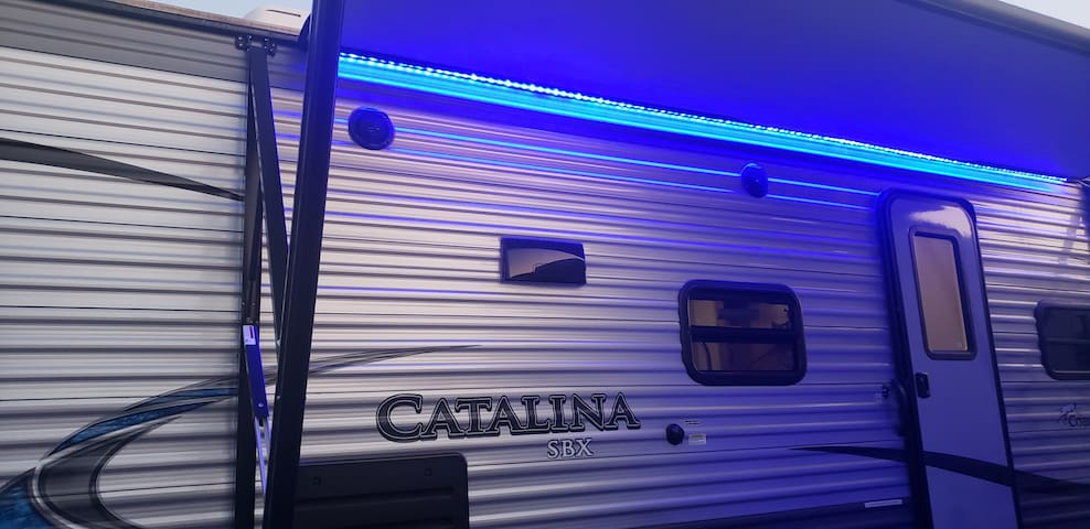 Comfy  modern trailer for families and couples
