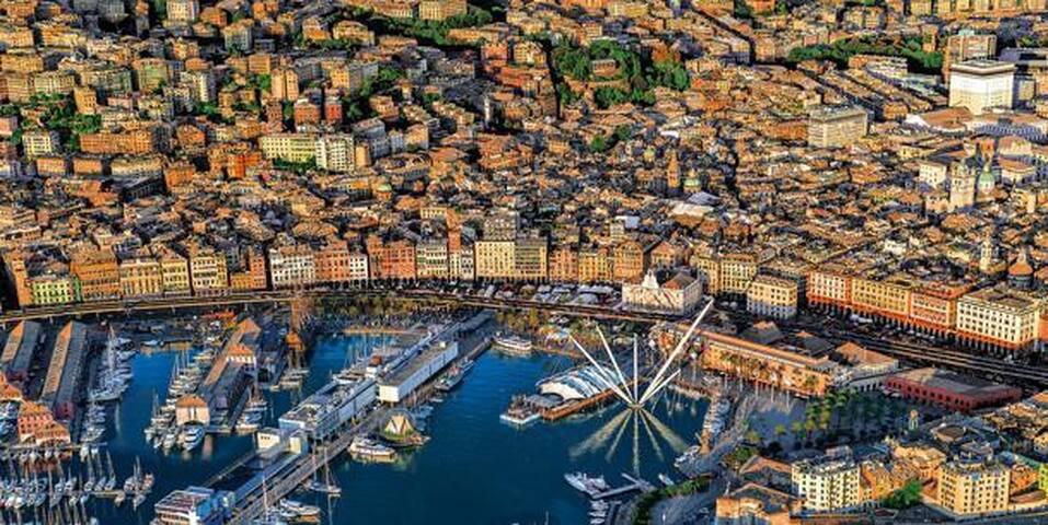 Cibo e arte a Genova