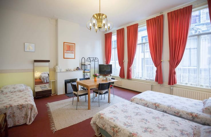 Historic B&B in the city center of The Hague 1 - Den Haag - Huis
