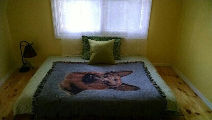 Small comfy attick room