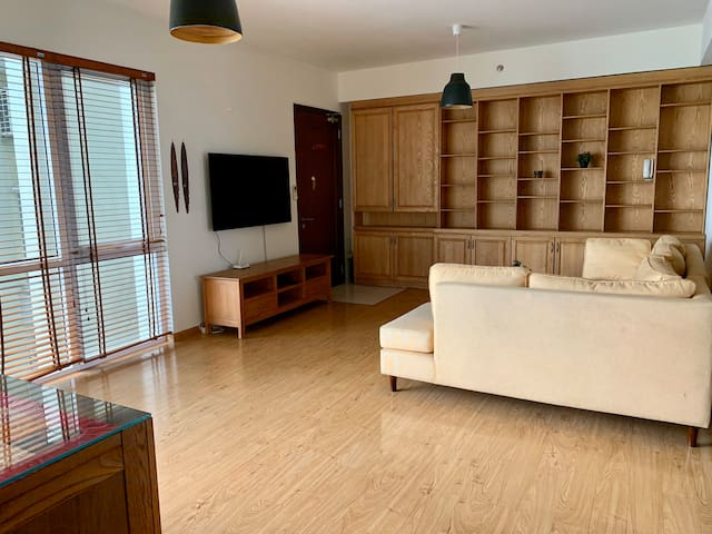 San's Wooden Home -83sqm 2br 2wc in Ecopark center