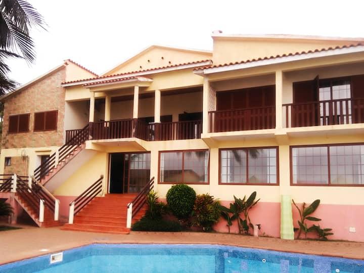 Passadeira Beach Guesthouse/São Tomé