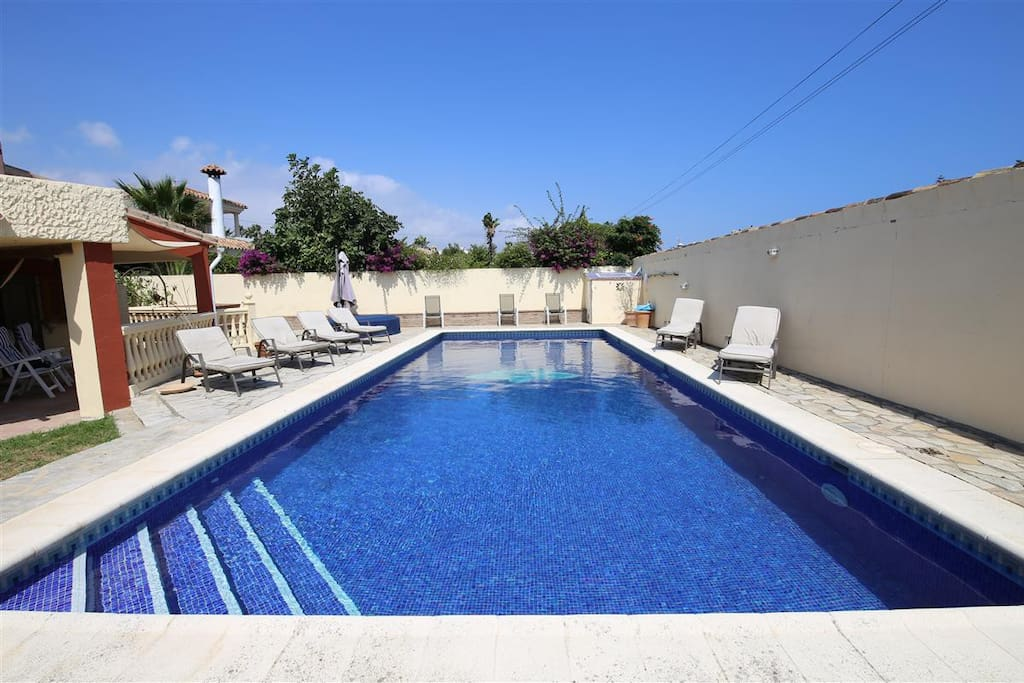 Photo of pool from one end