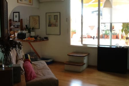Habitación doble con baño Barcelona example - Barcelona - Apartamento