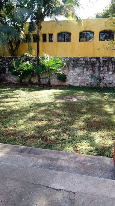 Vista terraza-jardín