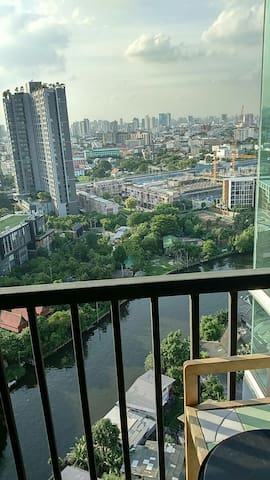 22nd  floor beautiful views condo - Bangkok - Daire