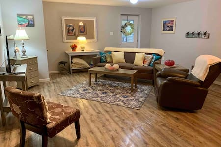 Spacious Basement Apartment in Tranquil Setting