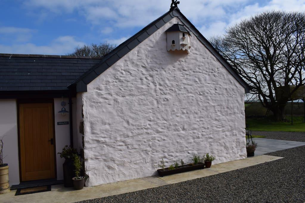 Milking Barn Entrance