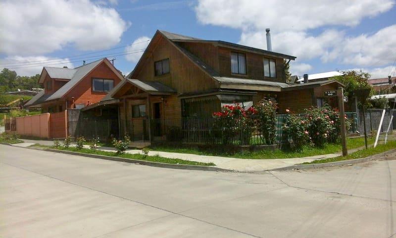 Alojamiento centro de Panguipulli, 1 Habitación