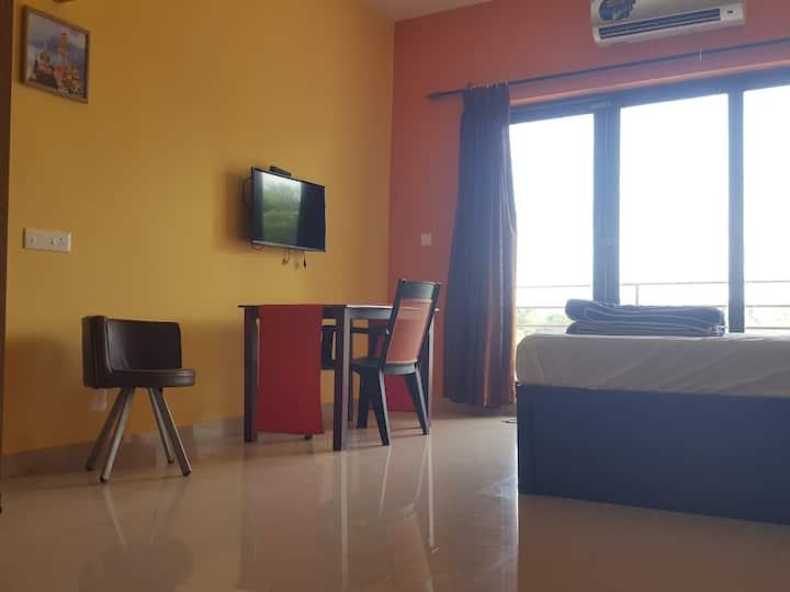 Furnished Studio Apartment, Auroville,Puducherry