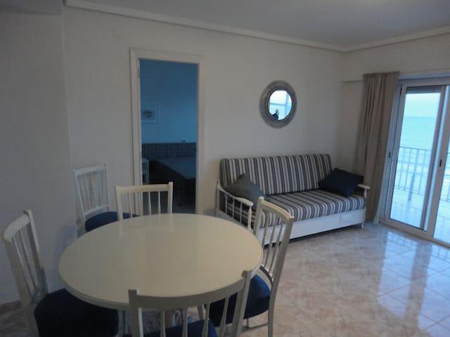 appartement 2 chambres en 1ére ligne de mer - Cullera - Condominium