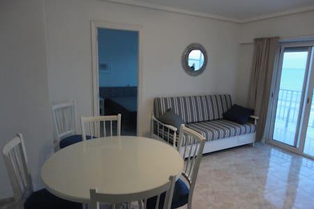 appartement 2 chambres en 1ére ligne de mer - Cullera - Apartament