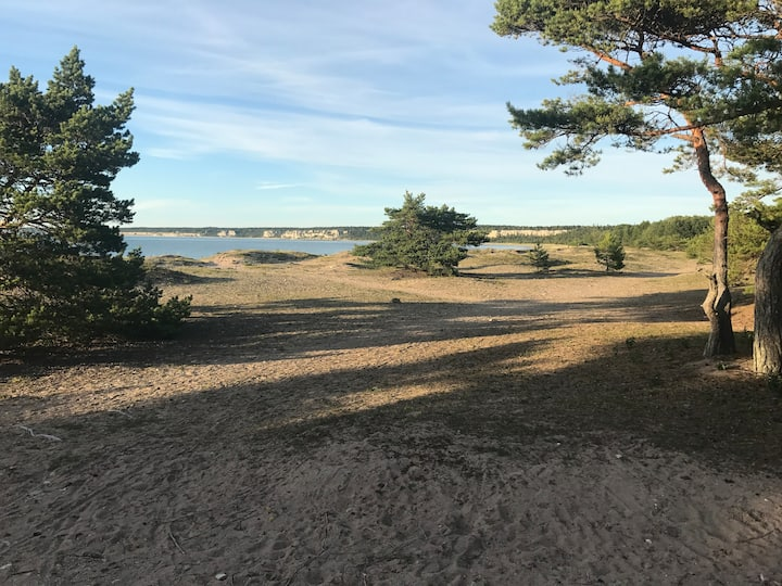 Gotland Ihreviken strandnära LYX RENOVERAT!! 140m2