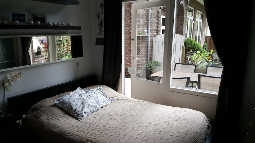 Cozy home with garden by the Amstel/Pijp/RAI - Amsterdam - Apartament