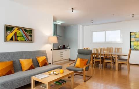 Modern Guest Apartment, 20 minutos a pé da praia